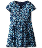 fiveloaves twofish - Eye of the Peacock Dress (Little Kids/Big Kids)