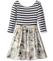 fiveloaves twofish - Louvre Dress (Little Kids/Big Kids)