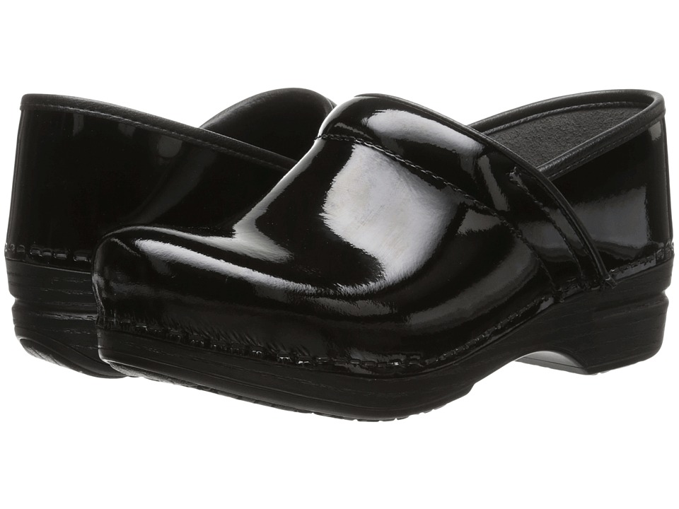 Dansko Pro XP (Black Patent) Women's Clog Shoes