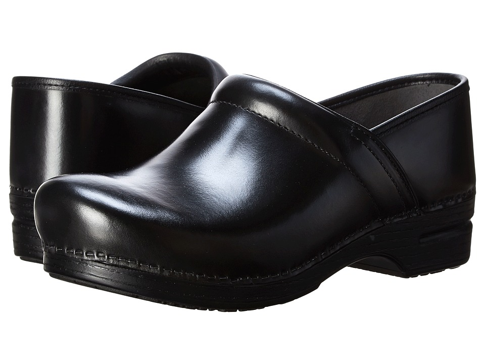 Dansko Pro XP (Black Cabrio) Men's Clog Shoes