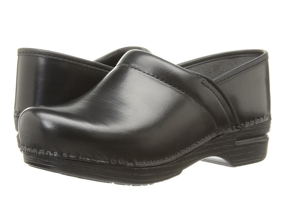Dansko Pro XP (Black Cabrio) Women's Clog Shoes