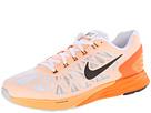 Nike LunarGlide 6 (White/Total Orange/Peach Cream/Black)