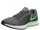 Nike Zoom Pegasus 31 (Dark Grey/Flash Lime/White/Poison Green)