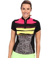 DKNY Golf - Animal Print S/S Top