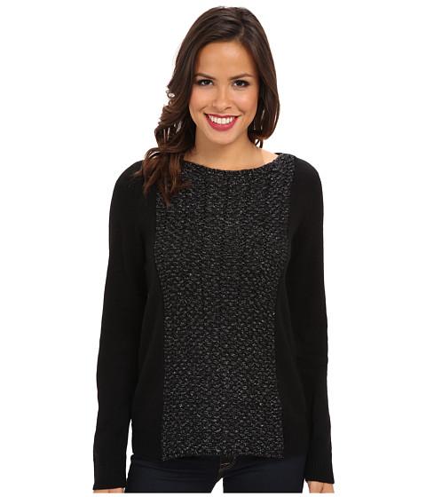 calvin klein jeans lurex mix media sweater. Black Bedroom Furniture Sets. Home Design Ideas