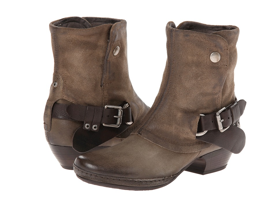 Miz Mooz - Evelyn (Taupe) Cowboy Boots