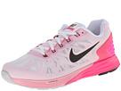Nike Lunarglide 6 (White/Pink Pow/Space Pink/Black)