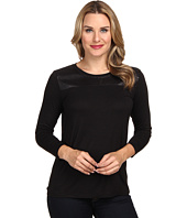 Calvin Klein Jeans - Sheer Yoke 3/4 Sleeve Top