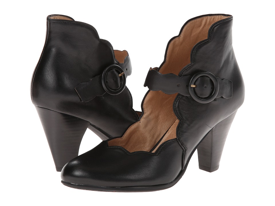 Miz Mooz - Carissa Black Womens Maryjane Shoes $139.95 AT vintagedancer.com
