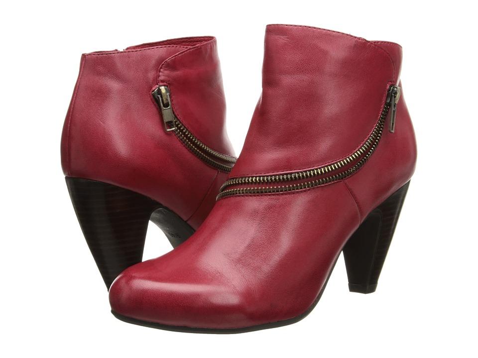 Miz Mooz Flirt (Red) Women's Shoes