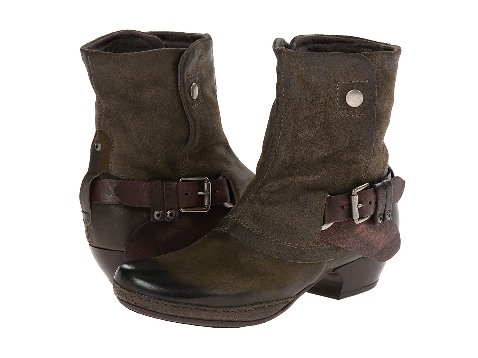 Miz Mooz - Evelyn (Green) Cowboy Boots