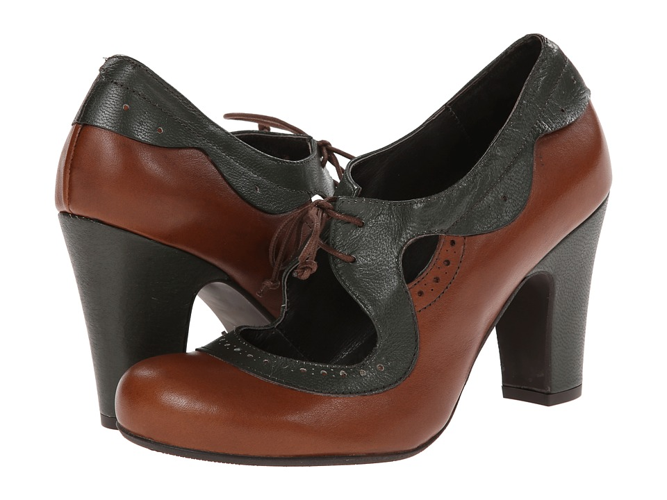 Miz Mooz Shelly (Whiskey) Women's Maryjane Shoes