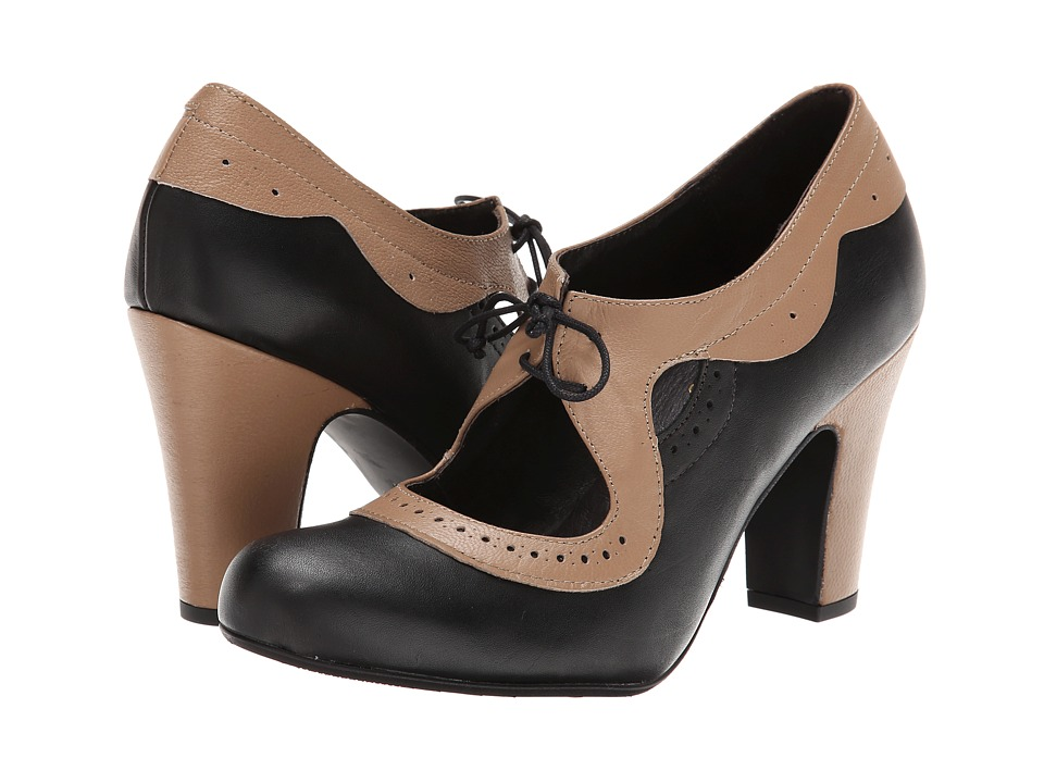 Miz Mooz Shelly (Black) Women's Maryjane Shoes