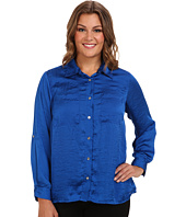 MICHAEL Michael Kors - Plus Size High-Low Button Down Shirt