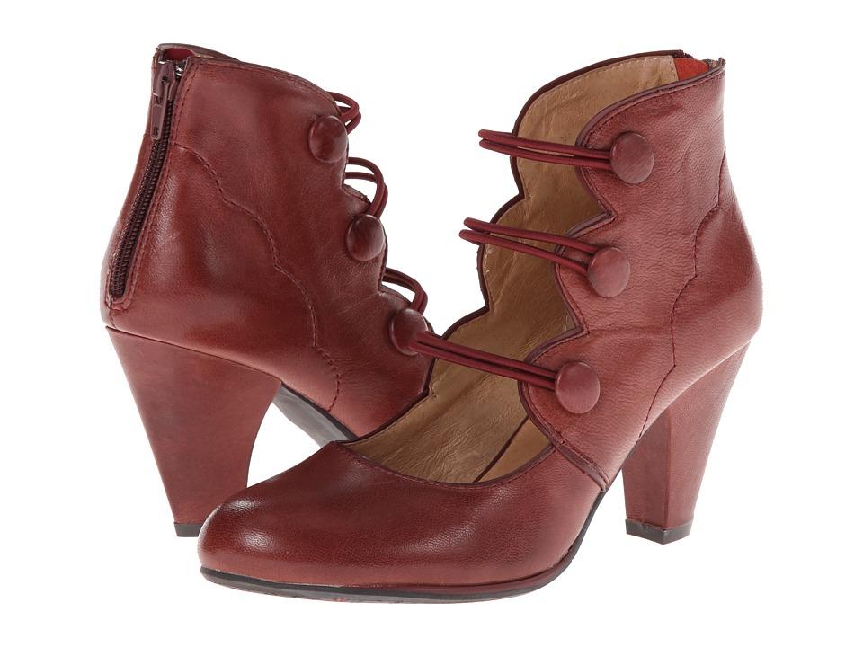 Miz Mooz Camilla (Grape) Women's Shoes