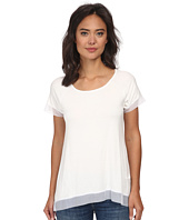 Christin Michaels - Jersey Chiffon Tunic