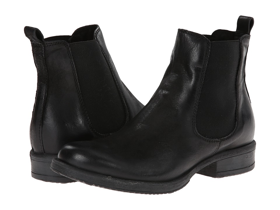 Miz Mooz - Newport Black Womens Pull-on Boots $164.95 AT vintagedancer.com