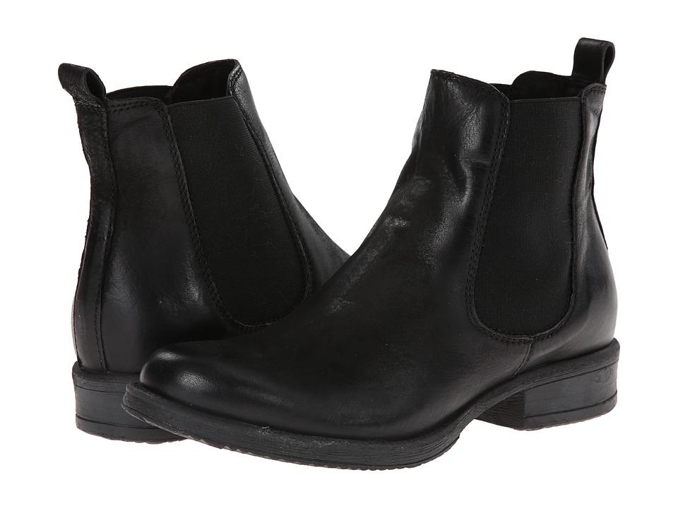 Retro Boots, Granny Boots, 70s Boots Miz Mooz - Newport Black Womens Pull-on Boots $164.95 AT vintagedancer.com