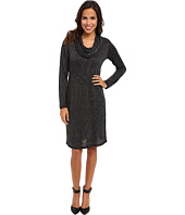 Miraclebody Jeans - Clara Swirl Cowl Dress w/ Body-Shaping Liner