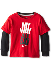 Nike Kids - My Way All Day 2 Fer Tee (Toddler)