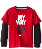 Nike Kids - My Way All Day 2 Fer Tee (Little Kids)