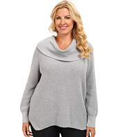 MICHAEL Michael Kors - Plus Size Thrm CWL Neck Sweater