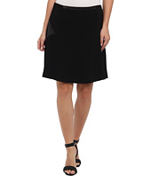 Vince Camuto - Fit & Flare Skirt w/ Ponte & Pleather Inset