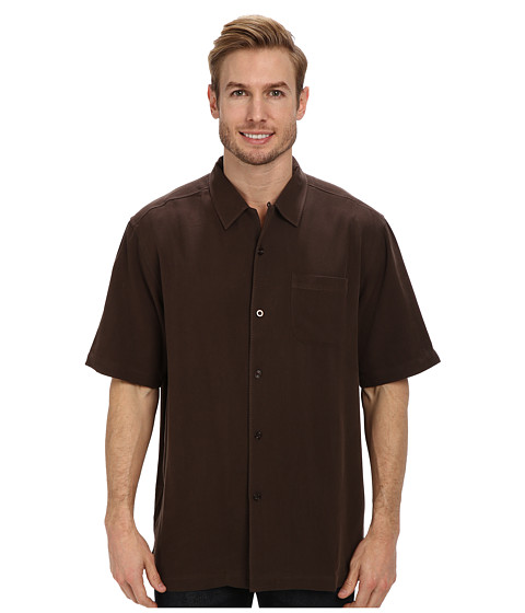 Coconut coffee for Tommy bahama catalina twill silk camp shirt