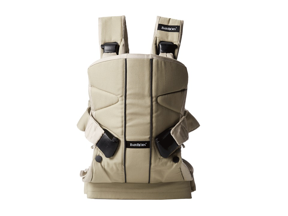 BabyBjorn Baby Carrier ONE Khaki Cotton Mix Carriers Travel