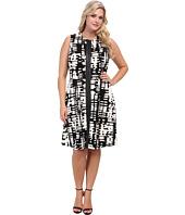Calvin Klein Plus - Plus Size Print A-Line Dress