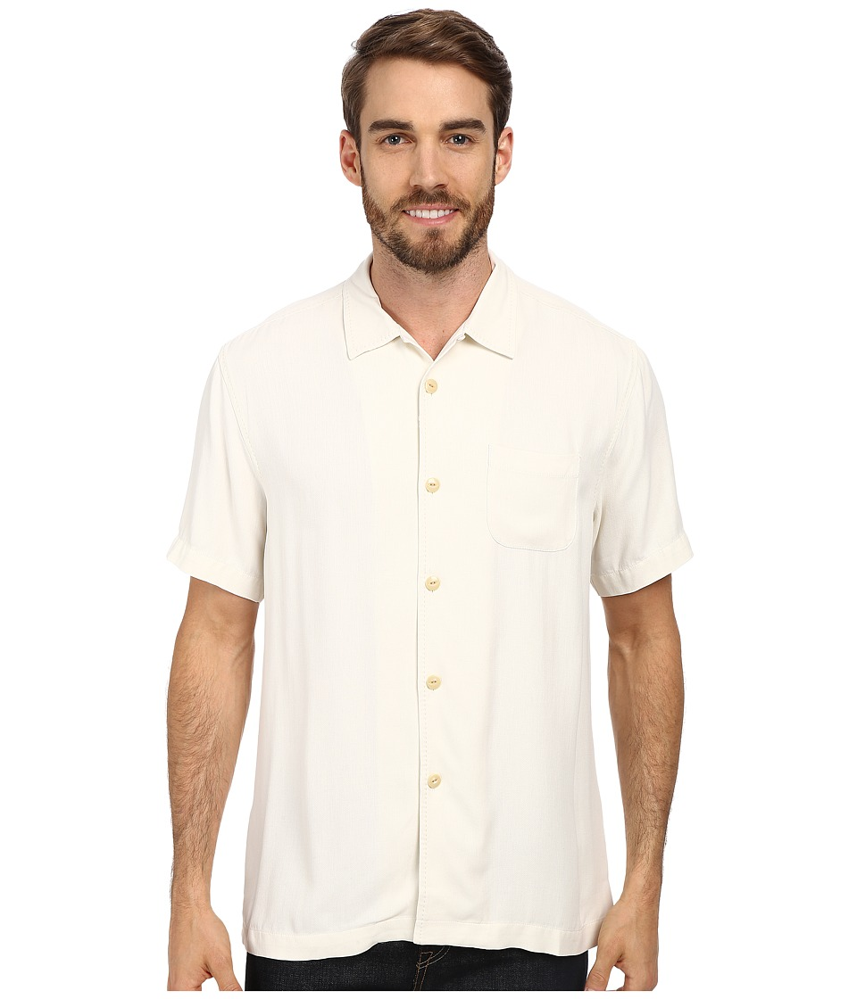 Tommy Bahama - Island Modern Fit Hamilton SS Camp Shirt Continental Mens Short Sleeve Button Up $110.00 AT vintagedancer.com