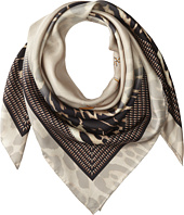 Givenchy - Shaded Leopard Silk Twill Scarf