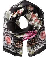Givenchy - Paradise Flowers Silk Chiffon Scarf