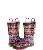 Western Chief Kids - Chevron Stripe Rain Boot (Toddler/Little Kids)