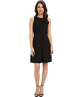 Vince Camuto - S/L Front Pleat A-Line Dress