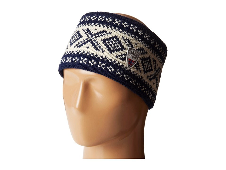 Dale of Norway Cortina 1956 Headband Navy/Off White Headband