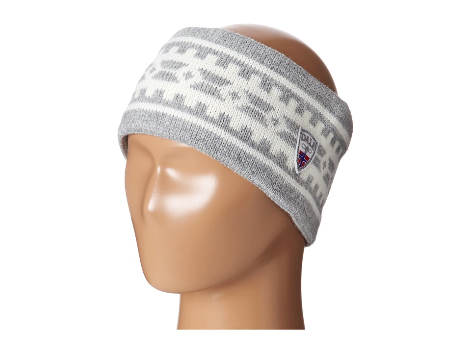 Dale of Norway Alpina Headband Light Charcoal/Cream Headband