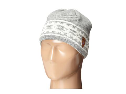 Dale of Norway Alpina Hat - Light Charcoal/Cream