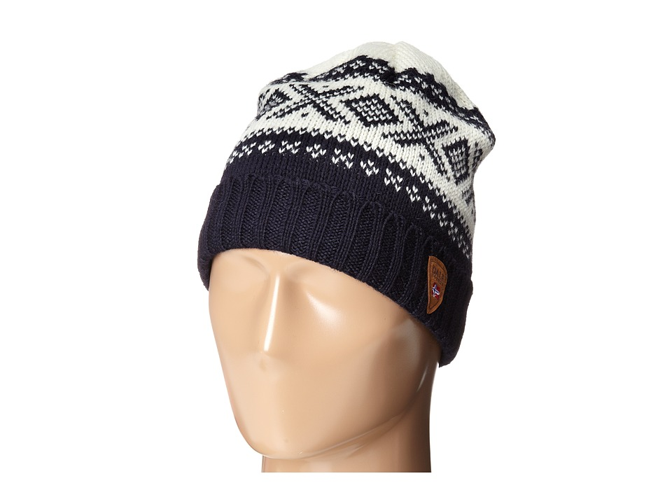 Dale of Norway Cortina 1956 Hat Navy/Off White Knit Hats