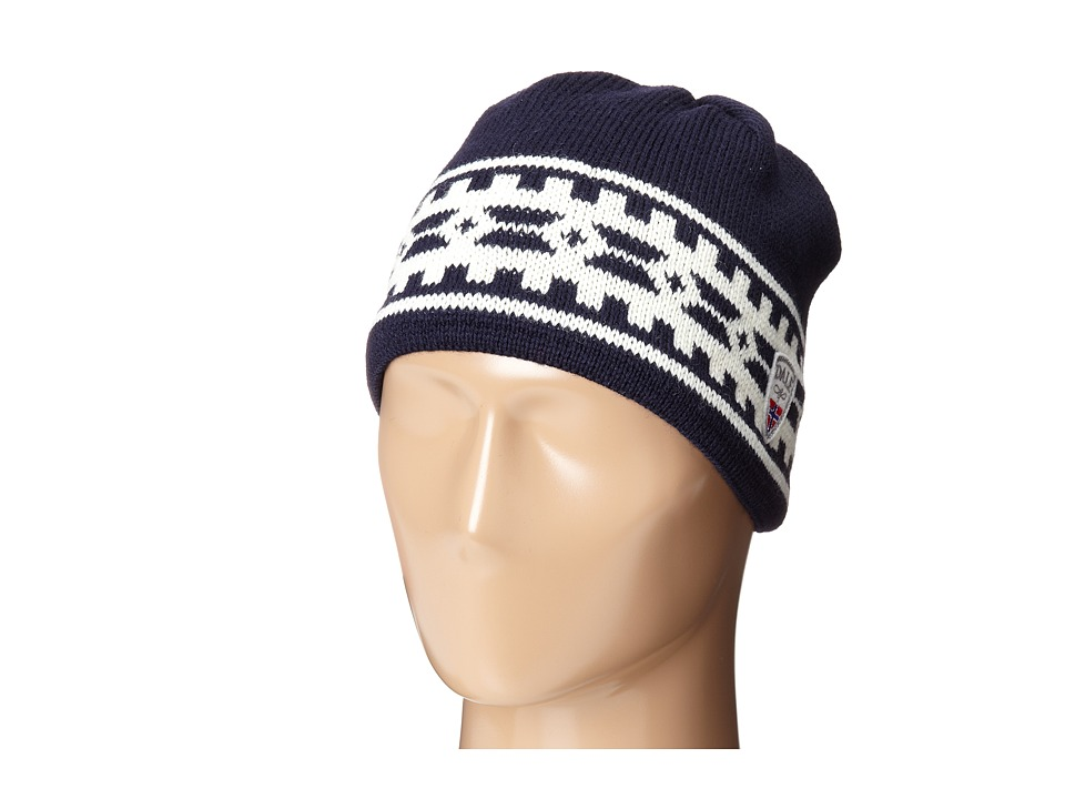Dale of Norway Alpina Hat Navy/Cream Knit Hats