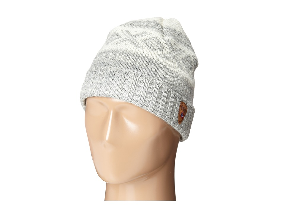Dale of Norway Cortina 1956 Hat Off White/Light Charcoal Knit Hats