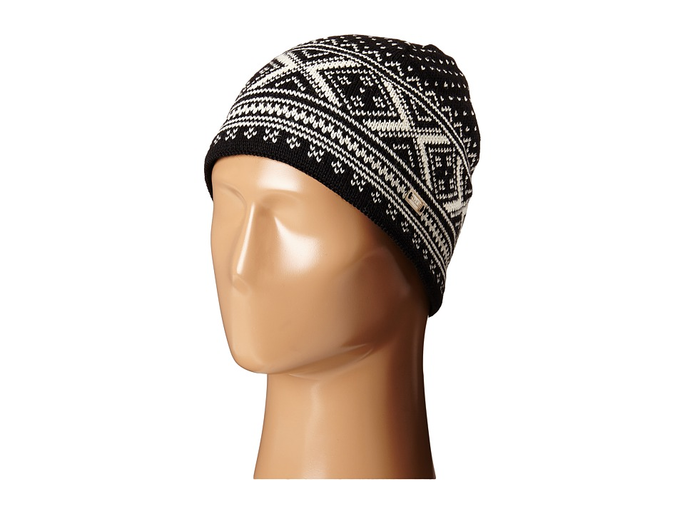 Dale of Norway - Vintage Hat (Black/Off White) Knit Hats plus size,  plus size fashion plus size appare