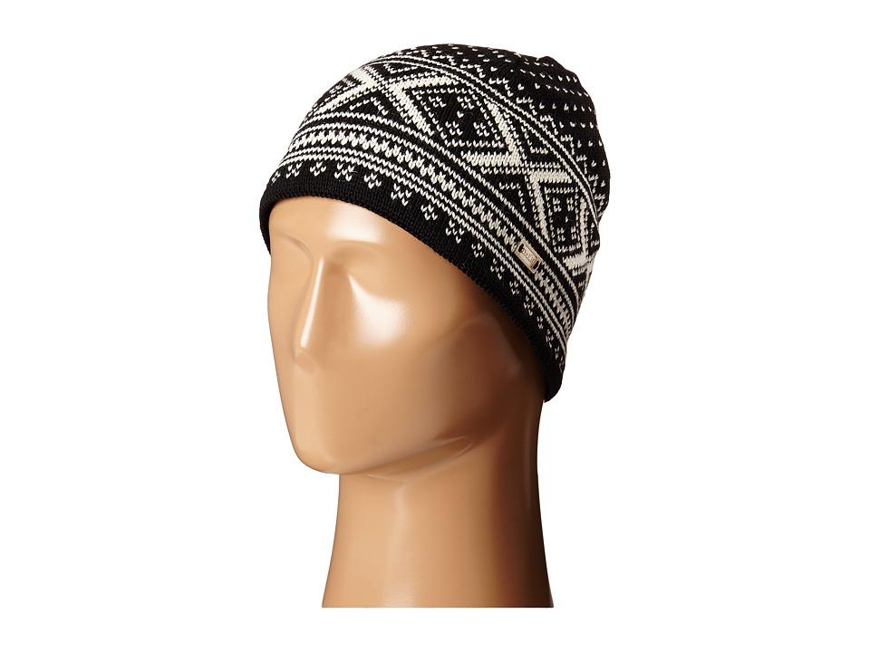 Dale of Norway - Vintage Hat (Black/Off White) Knit Hats plus size,  plus size fashion plus size appare