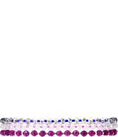 Chan Luu - 6 3/4 Purple Mix Adjustable Single Bracelet