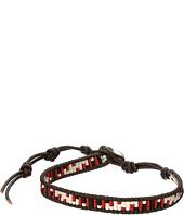 Chan Luu - 6' Red Mix/Natural Dark Brown Bracelet
