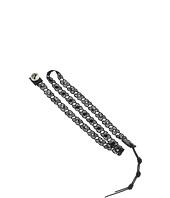 Chan Luu - 19' Black/Black Lace Wrap Bracelet