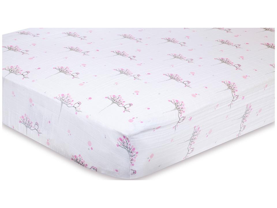 aden anais Classic Crib Sheet For the Birds Owl Sheets Bedding