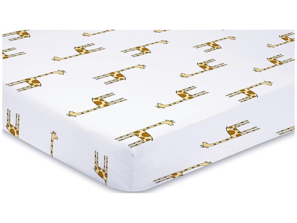 aden anais Classic Crib Sheet Jungle Jam Giraffe Sheets Bedding