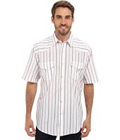 Roper - S/S 9210 Wide White Stripe Shirt