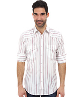Roper - L/S 9210 Wide White Stripe Shirt